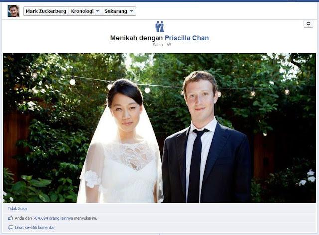 Mark Zuckerberg Menikah !! [ www.BlogApaAja.com ]