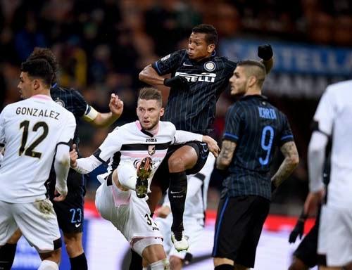 Inter Milan vs. Palermo 3-0 Highlight Goal Serie A TIM 8-02-2015