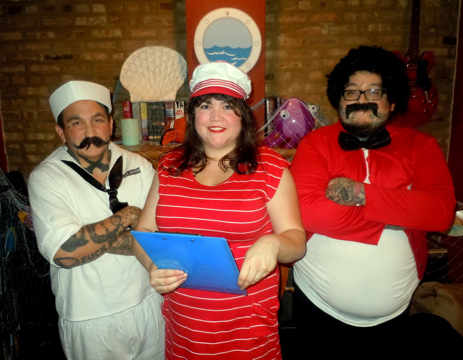 Cooking And Entertaining With Leah Cruise Ship Party - Cruise ship costume