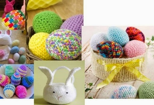Craftdrawer Crafts Easy To Crochet Easter Egg Patterns