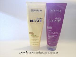 Shampoo para cabelos loiros JF