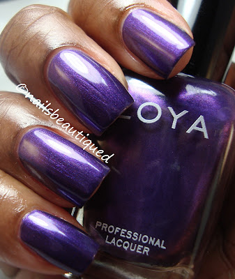 Zoya Diva Metallic Collection