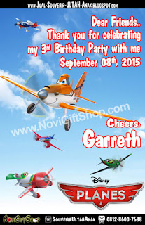 Thank Card Planes Garreth Sample Tema Design Thanks Card (Kartu Ucapan Terima Kasih)