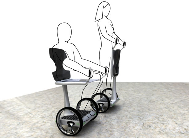 part man part car eaz 39 s disabled mobility device concept