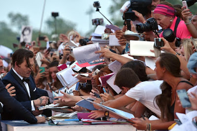 Johnny Depp ingrassato a Venezia