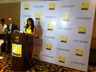 Priyanka Chopra unveils the new series of Nikon COOLPIX camera