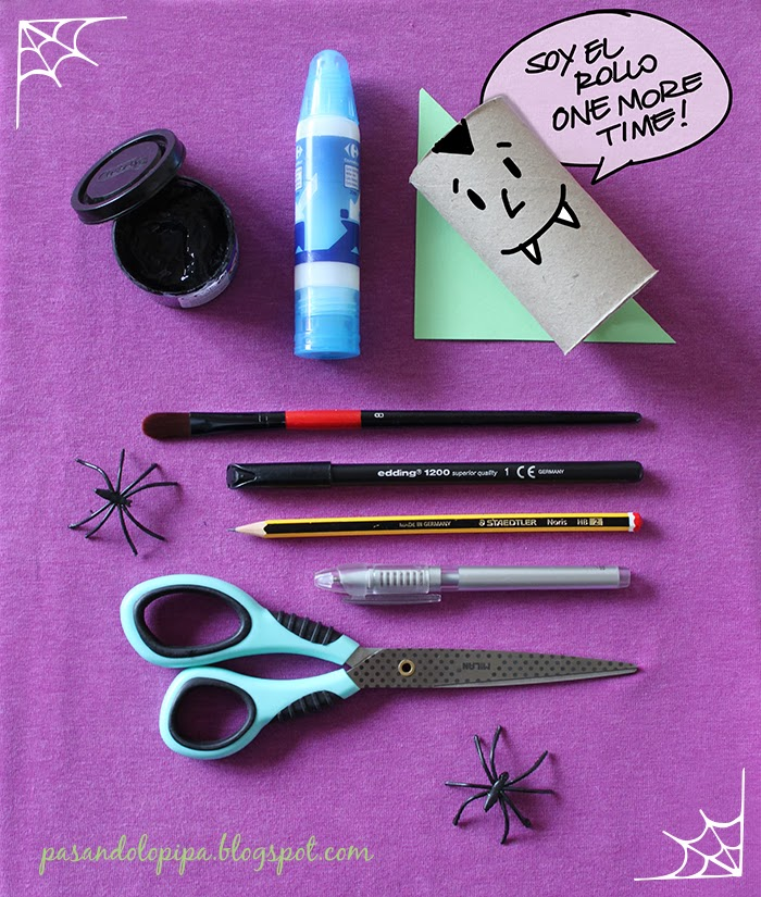 pasandolopipa | gato negro DiY material Halloween