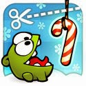 Cut the Rope: Holiday Gift App iTunes App Icon Logo By Chillingo Ltd - FreeApps.ws