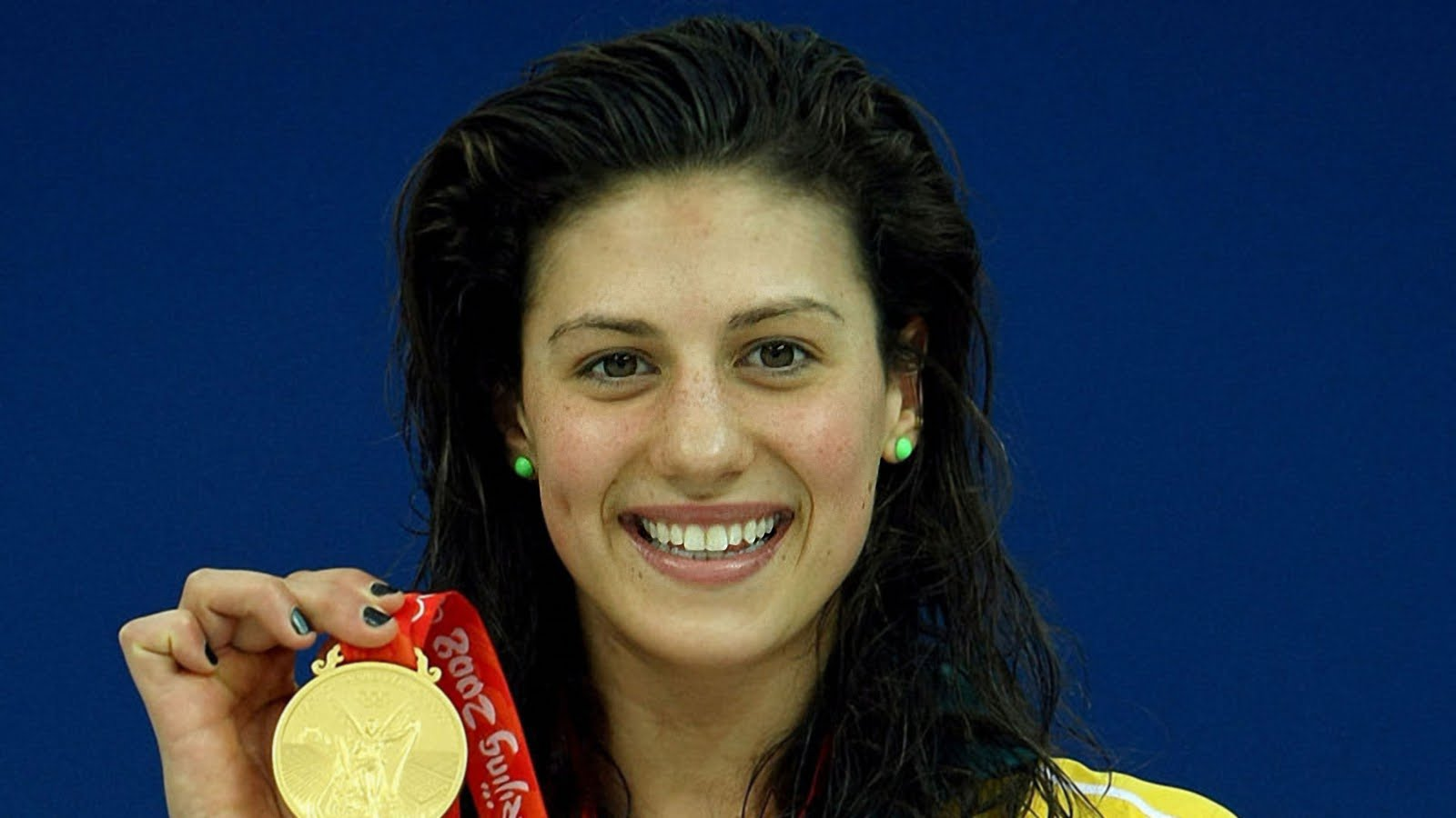 Watch Stephanie Rice 3 Olympic medals video
