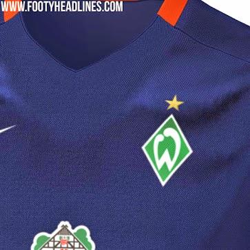 jual online baju bola jersey Jersey Werder Bremen away terbaru musim 2015/2016