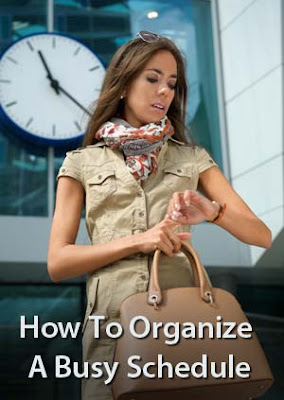 How To Organize A Busy Schedule by Robert Mizrahi of Chaos Commandos