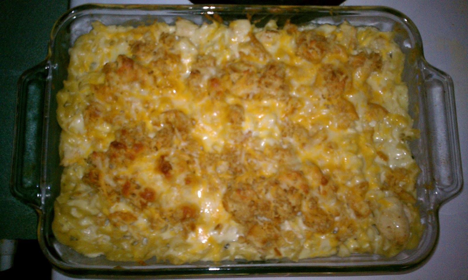 This DIY Mom's Diary: Cheesy Chicken Noodle Casserole