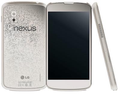 nexus 4 blanco google lanzamiento