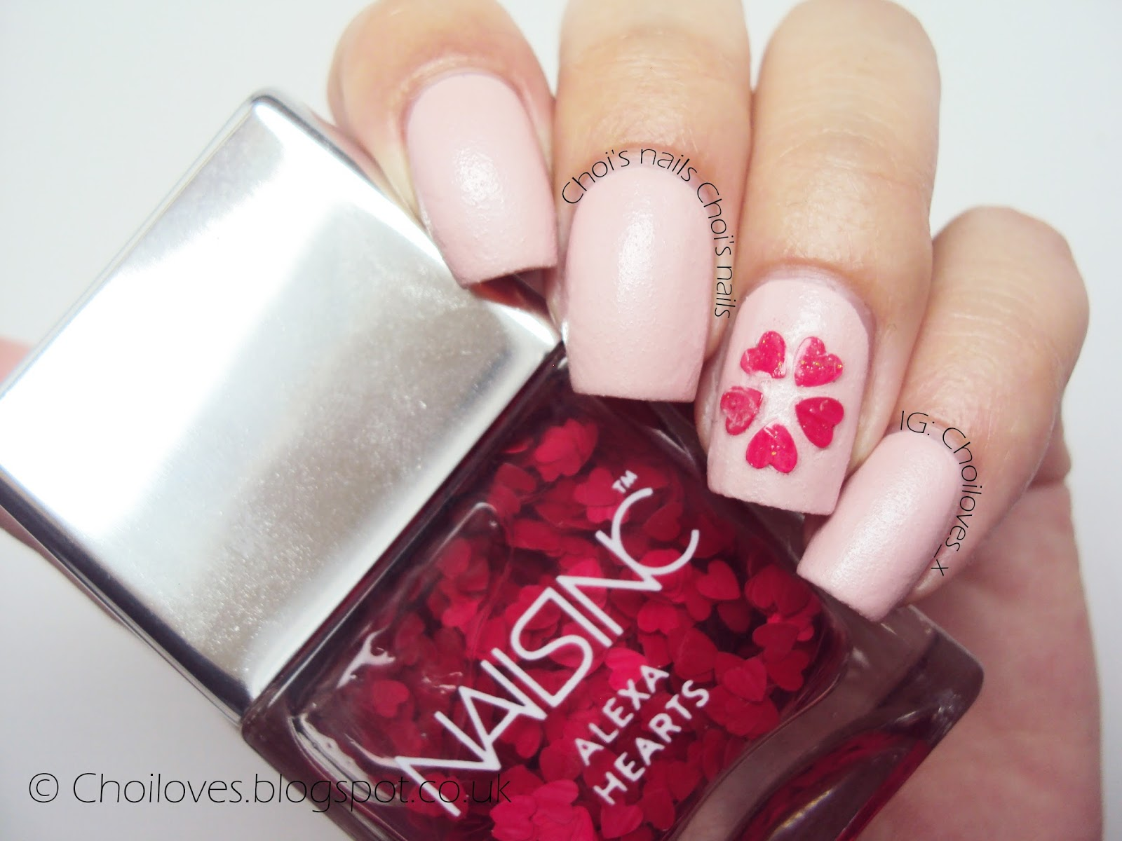 To Save Time I Placed It Only On The Ring Finger Nail In A Flower Shape And Let Rest Be