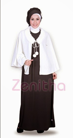 20 Contoh Model Baju Muslim Zenitha Terbaru Kumpulan