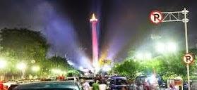 Pesta Rakyat Yang Meriah di Monas Atas Dilantiknya Jokowi