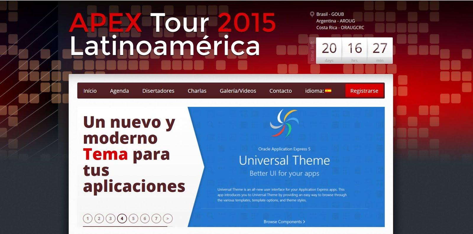 Apex Tour 2015