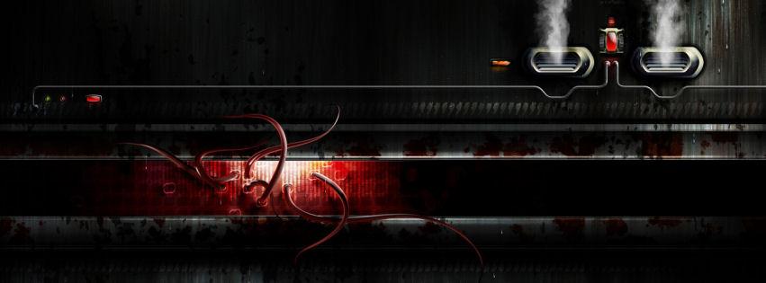 Dark facility facebook cover