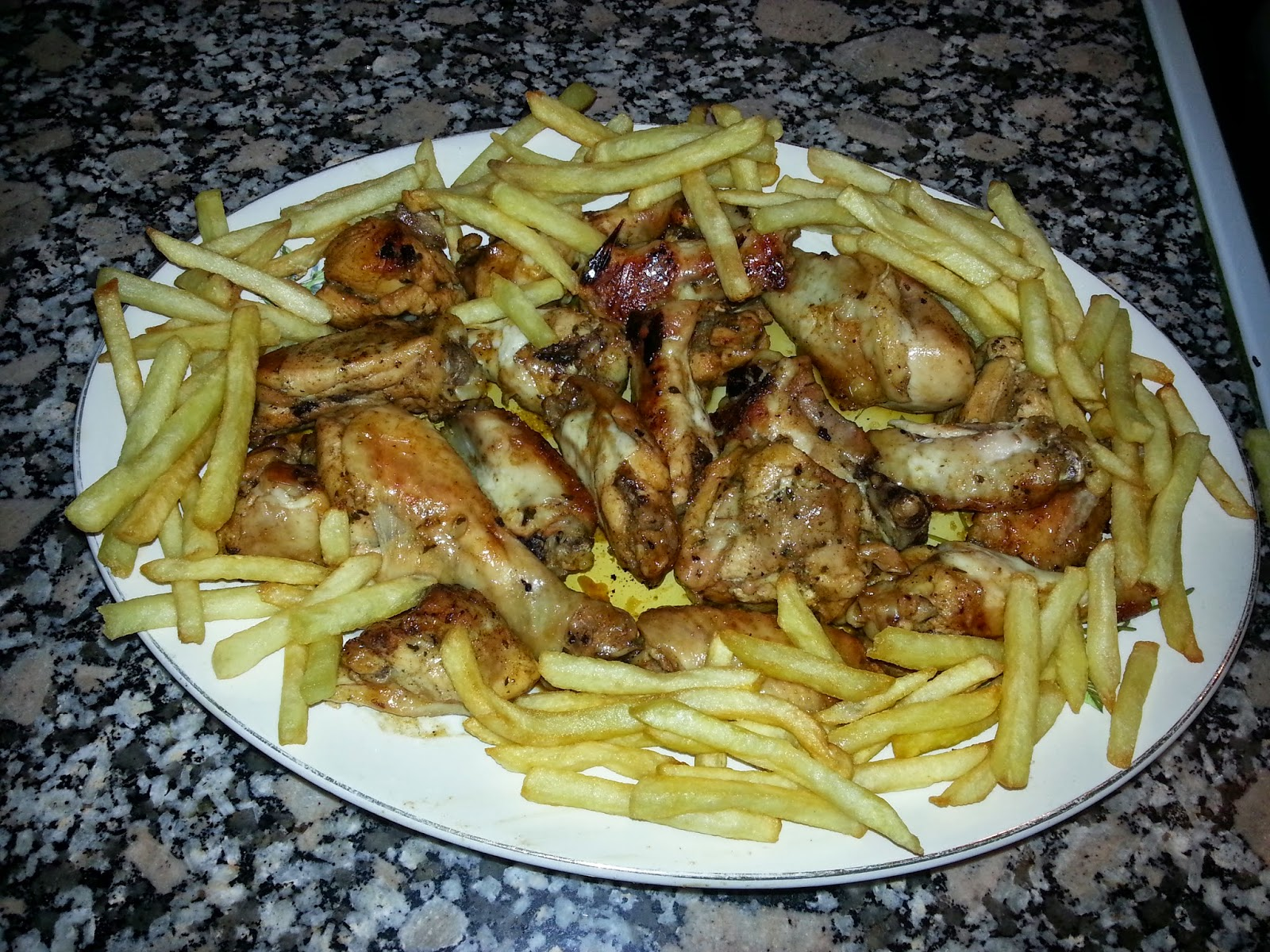 Recetas de toda la vida cocinar sencillo como me ense - Como cocinar pollo al horno ...