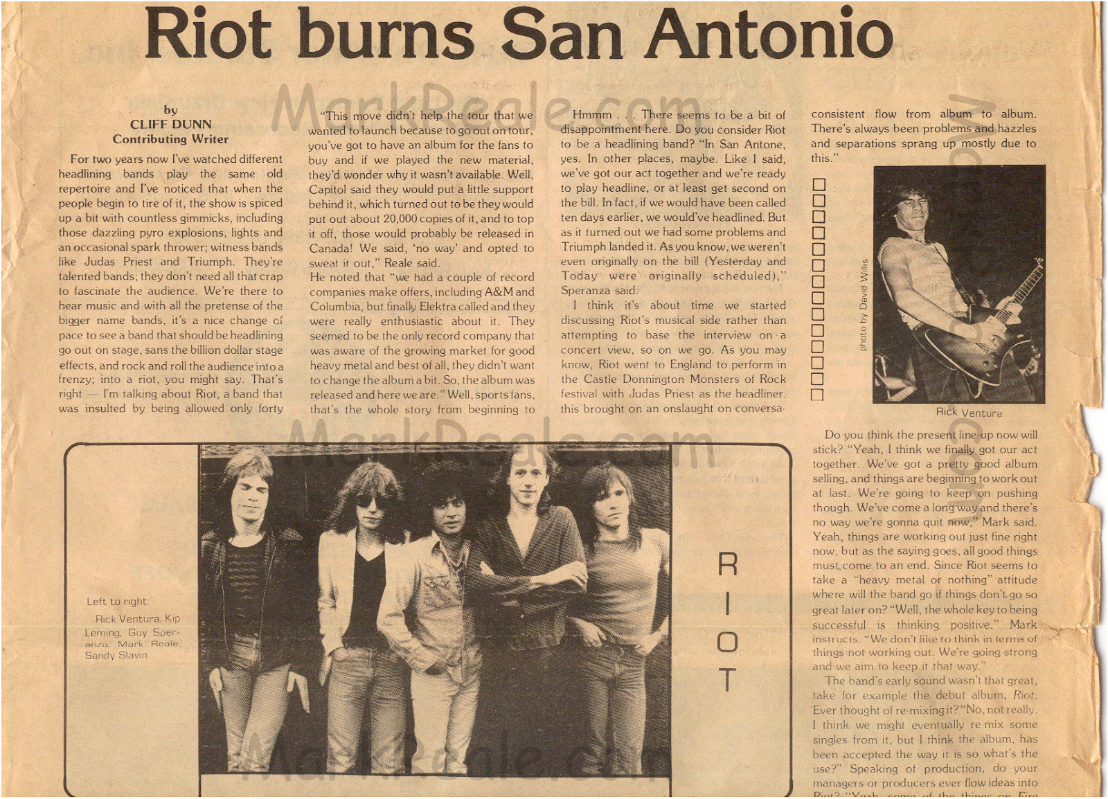 RIOT 1979 Interview