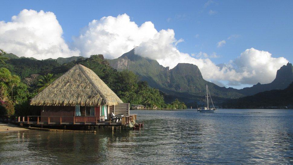 Bungalow sur Piloti avec accès au lagon au Club Bali Hai
