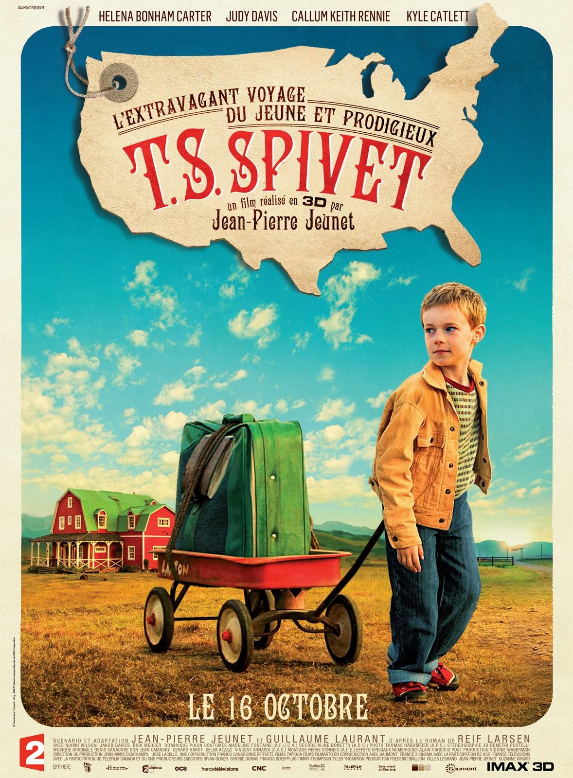 El extraordinario viaje de T.S. Spivet (2013)