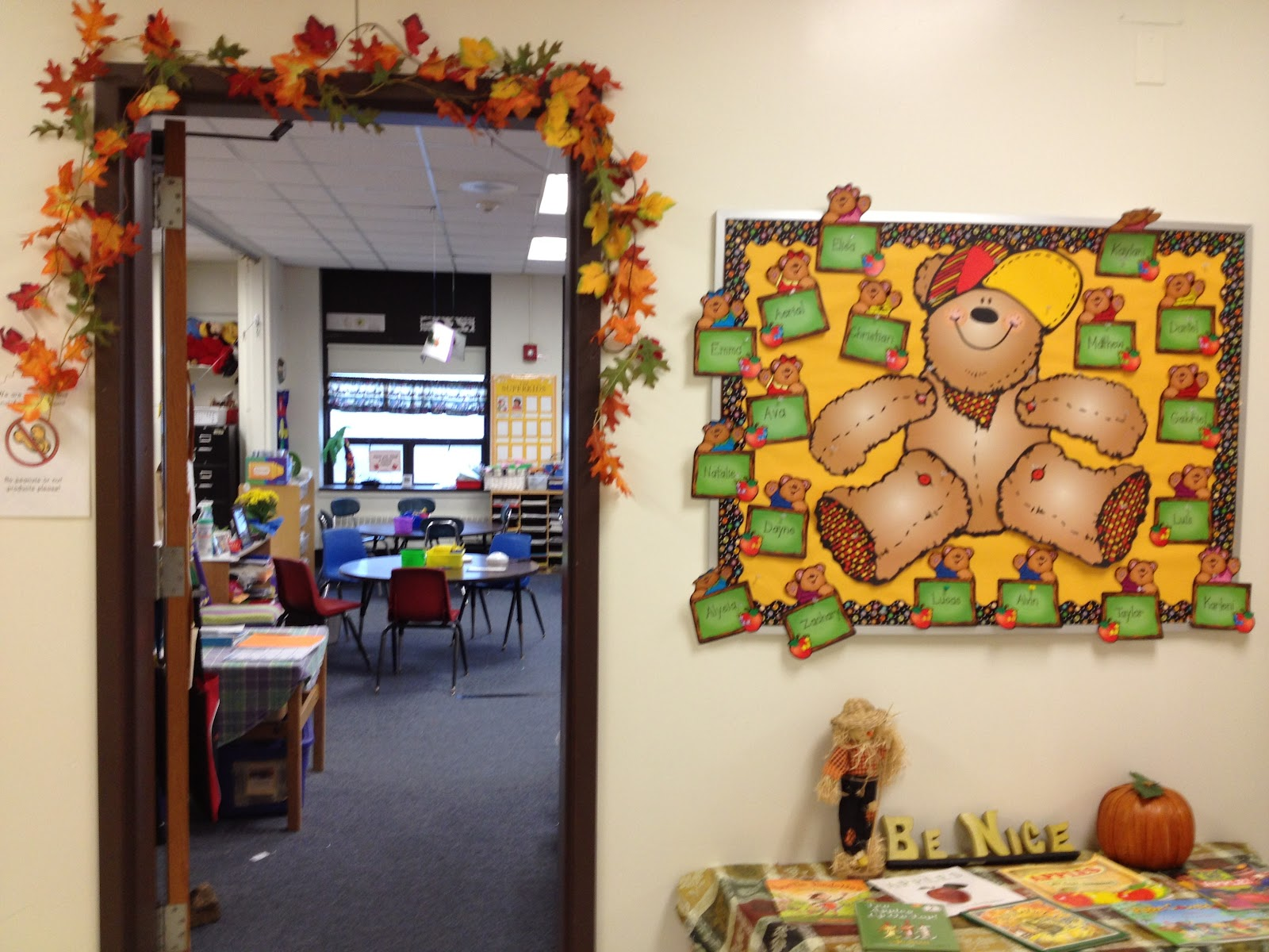 K is for kindergarten a peek inside room 134 for Activity room decoration