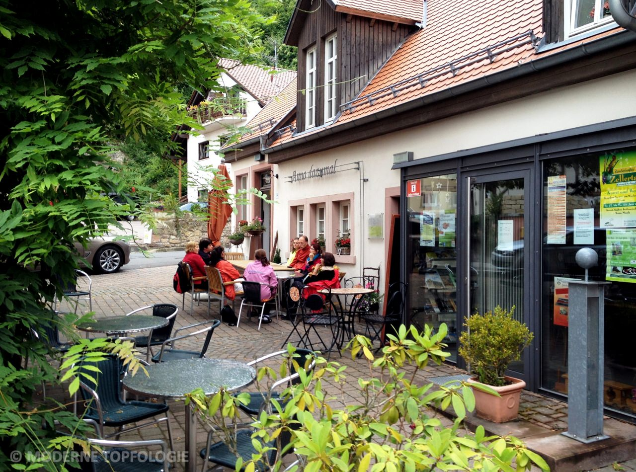 Das Cafe Anno dazumal in Dannenfels am Donnersberg