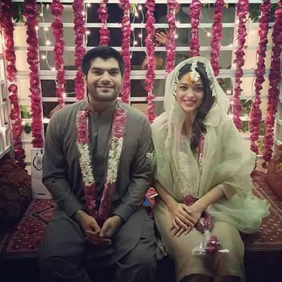 Sanam Jung Finally Got Married - See Pictures