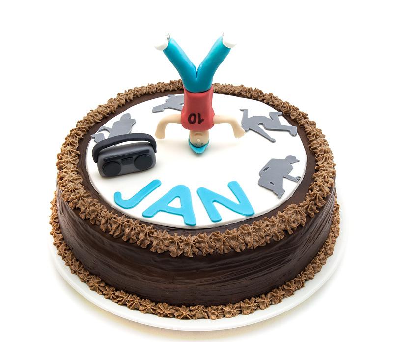 Hip hop torta /Hip hop cake front