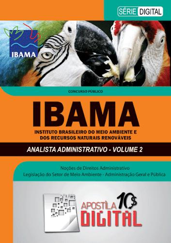 Apostila Digital IBAMA Analista Administrativo - Volume 2 (cod ADIAAV2)