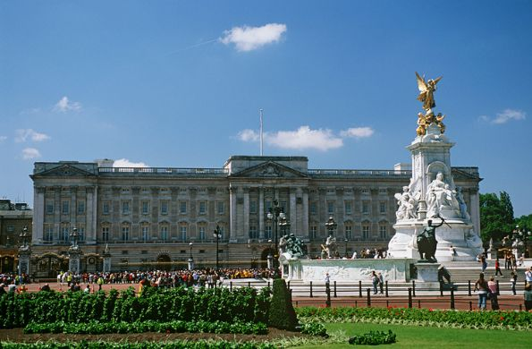 El Palacio de Buckingham en Londres
