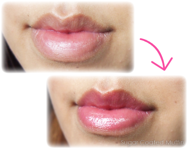 Swatch of Clinique Almost Lipstick Flirty Honey