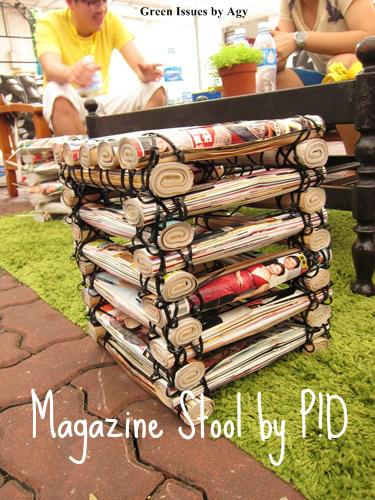 Making A Magazine Stool Agy Textile Artist