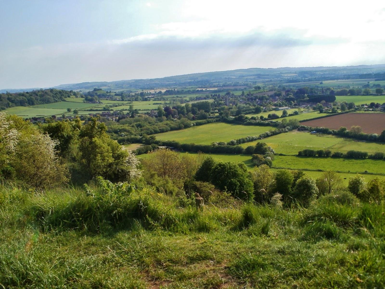 Ham Hill landscape