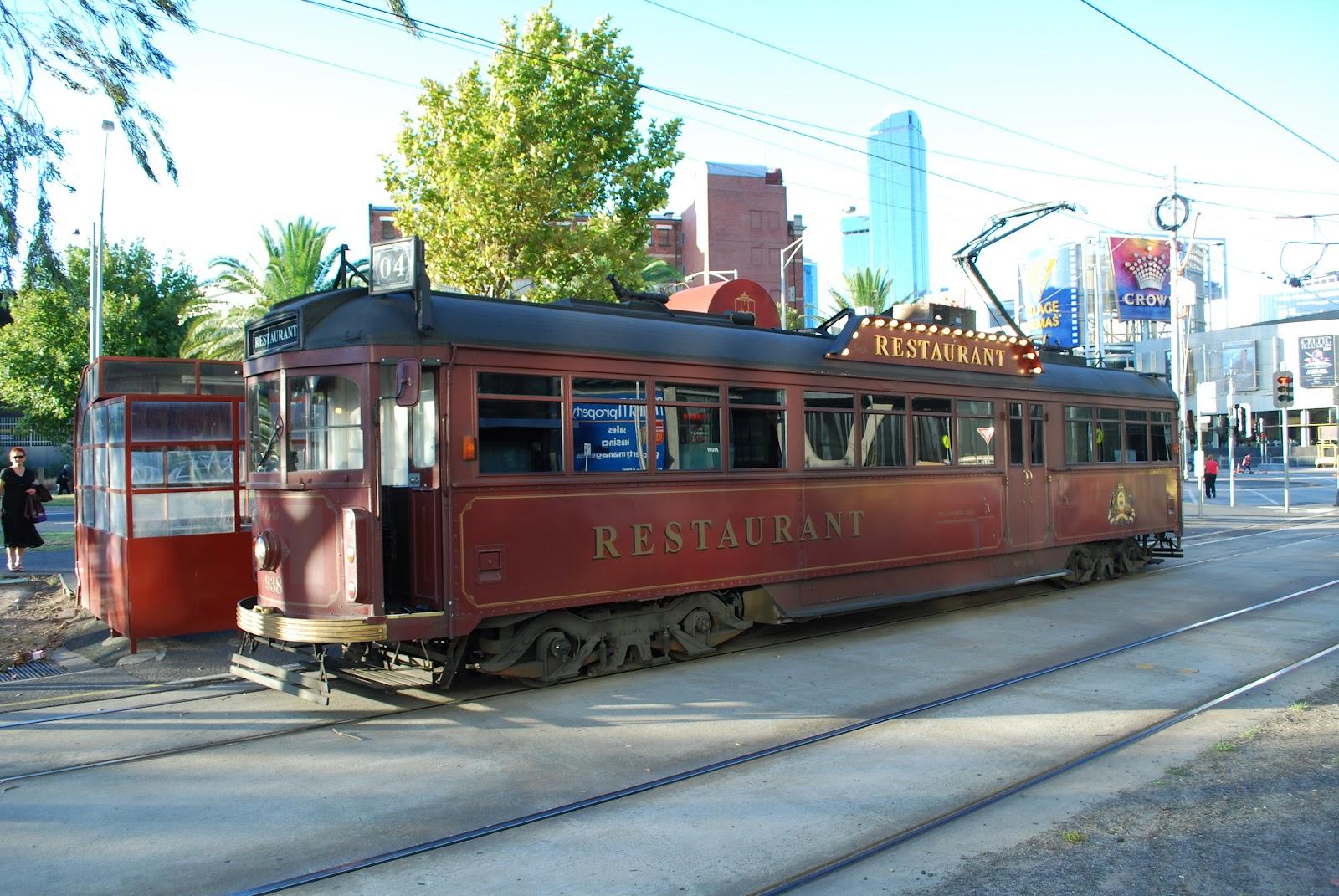 food trek reviews colonial tramcar restaurant melbourne. Black Bedroom Furniture Sets. Home Design Ideas