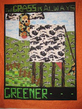 Pam Toombs wonderful Cow Quilt