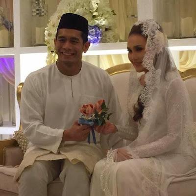 Pernikahan_Fahrin_Ahmad_dan_elena