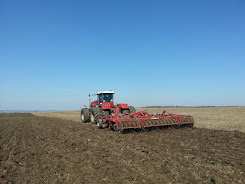 Cultivating before planting maize