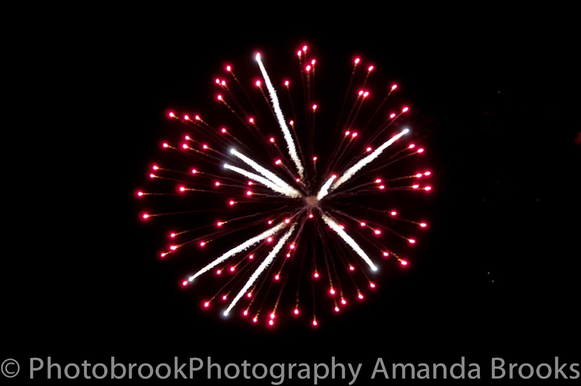 Fireworks in Cornwall