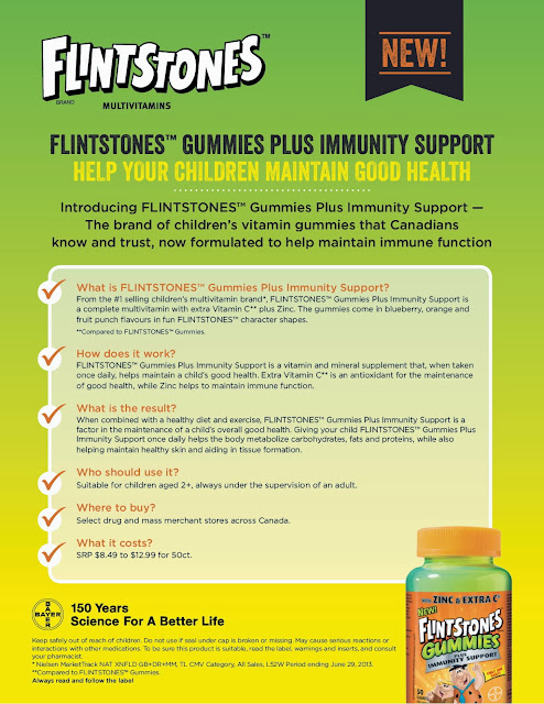 Flintstones+Booklet+5 The Launch of Flinstones Gummies Plus Immunity Support and a #Toronto Giveaway