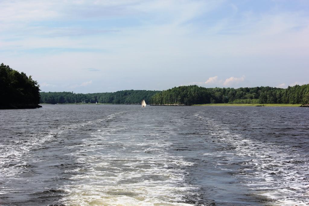 white cedar inn today lighthouse cruise on the kennebec river