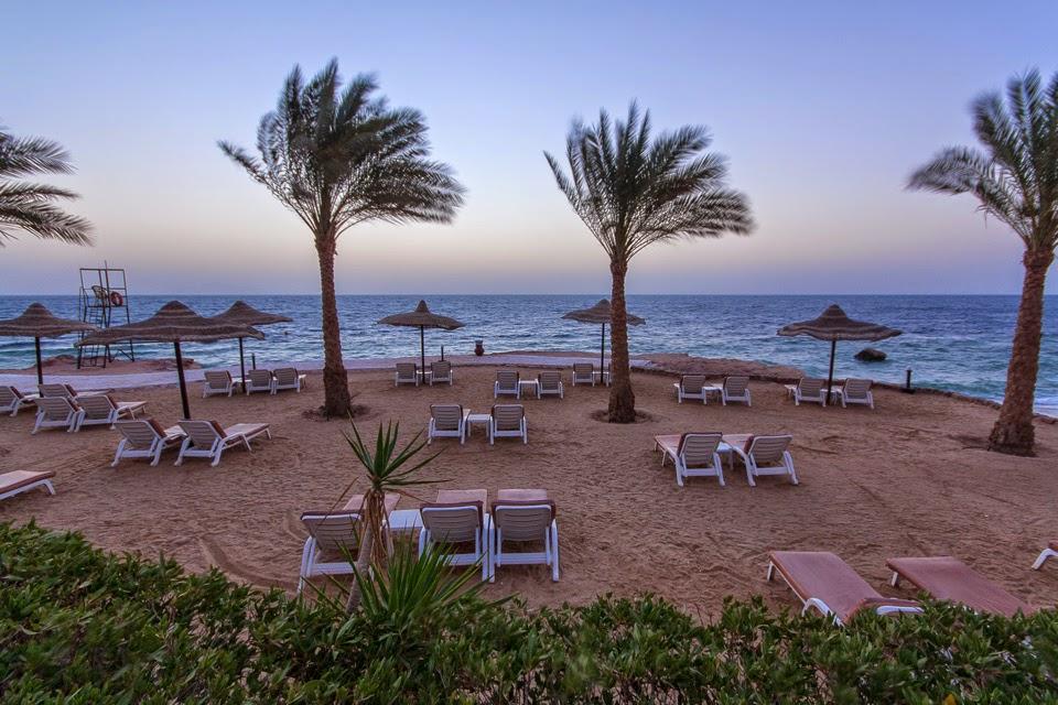 a szálloda partja