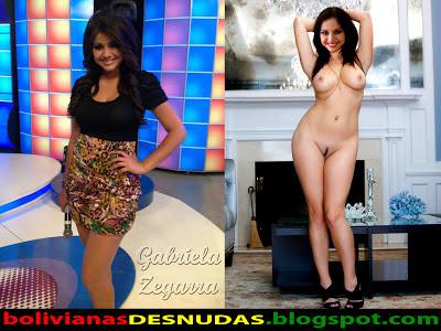 Bolivianas Famosas Desnudas Gabriela Zegarra Top Uno