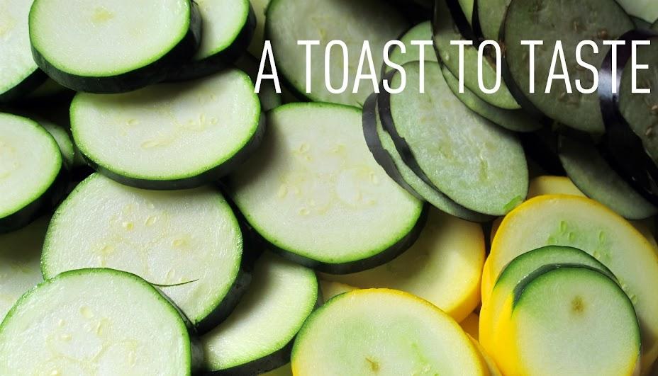 A Toast to Taste