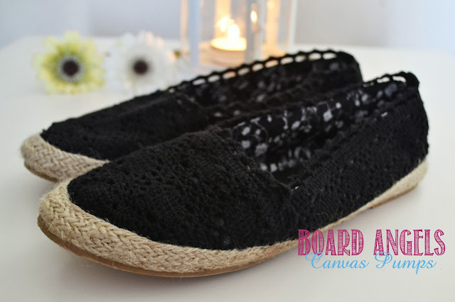 photo of black crochet pumps review
