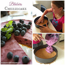 Busenkel blåbärscheesecake