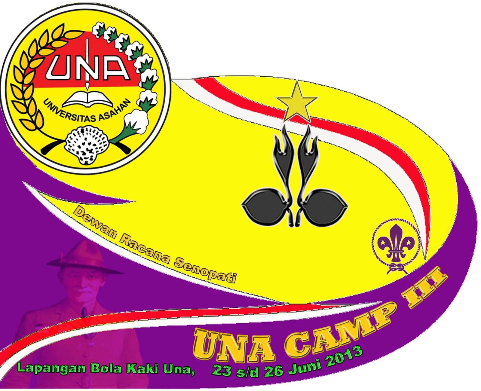 LOGO PERKEMAHAN UNIVERSITAS ASAHAN ( UNA CAMP ) III 2013