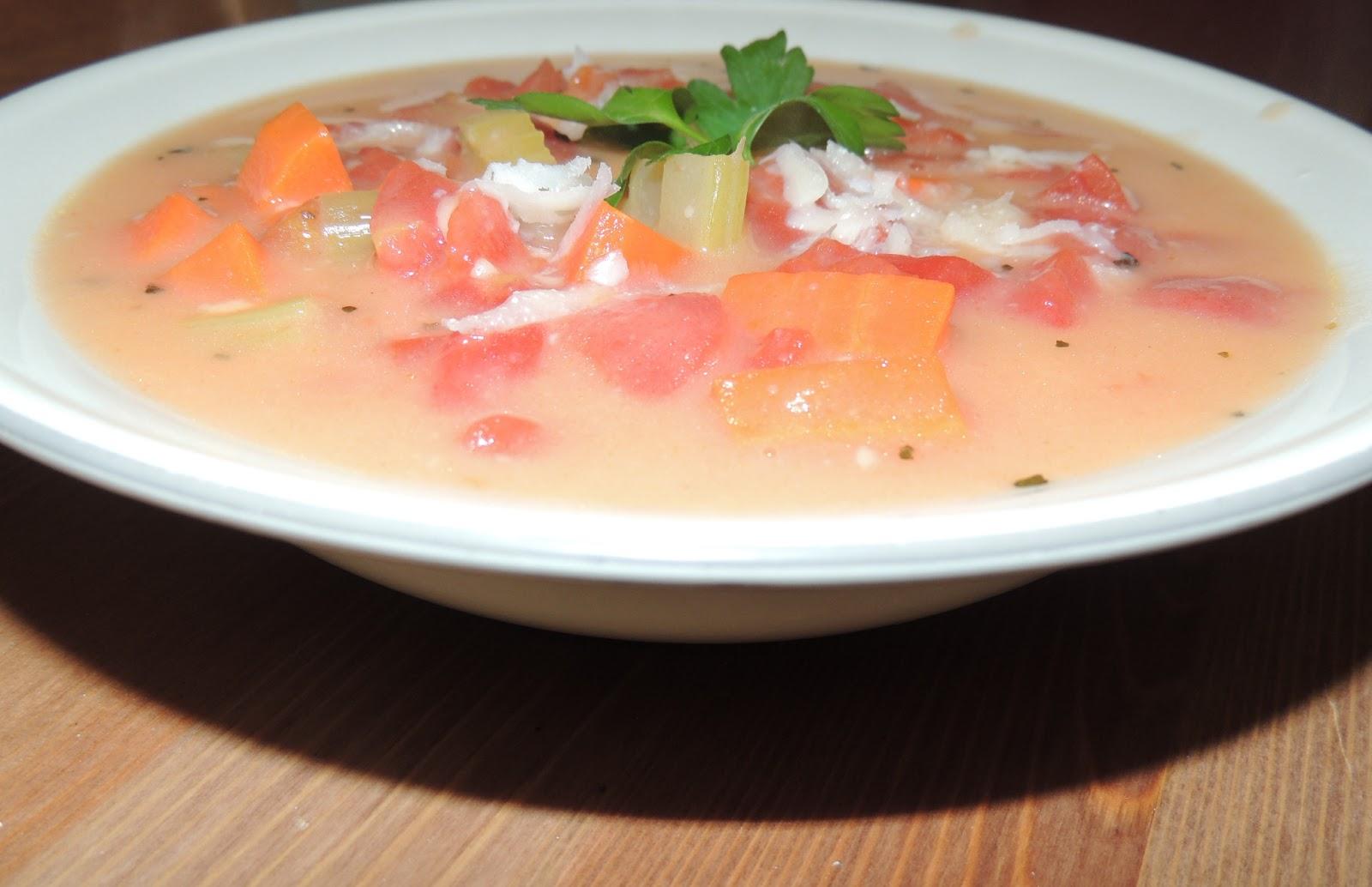 Gas Stove Girl: Creamy Tomato Parmesan Soup