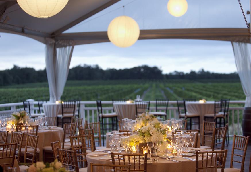 Koru wedding style long island vineyard wedding krista paul junglespirit Gallery